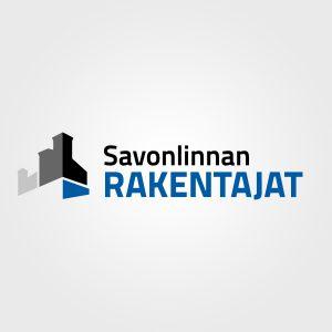 Kuva, jossa on Savonlinnan Rakentajien logo